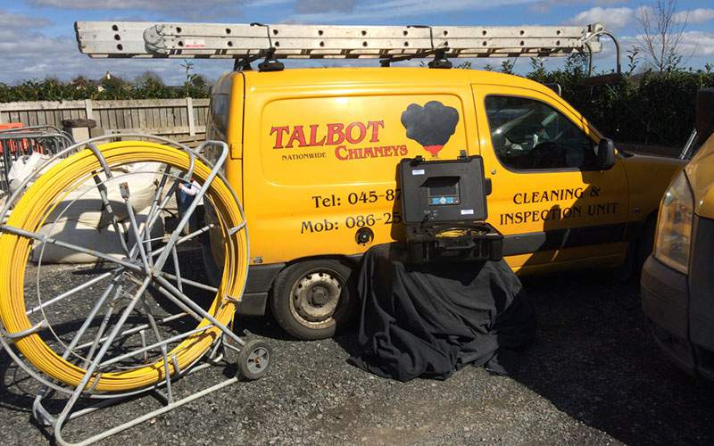 Talbot chimneys - inspection equipment