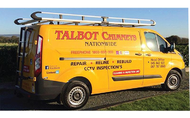 Talbot chimneys - van