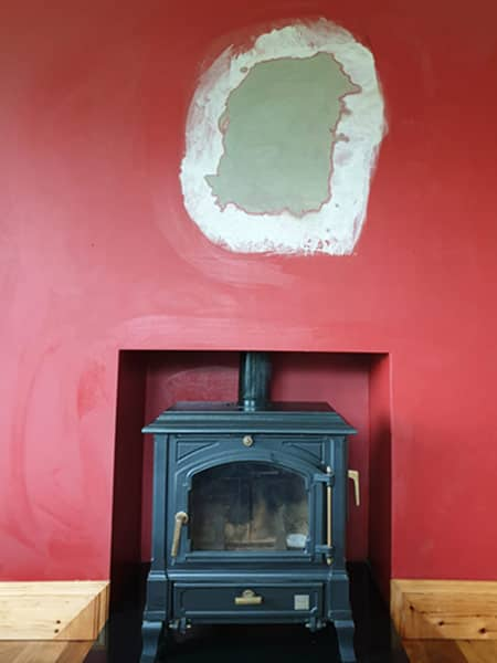 Chimney relining - AFTER